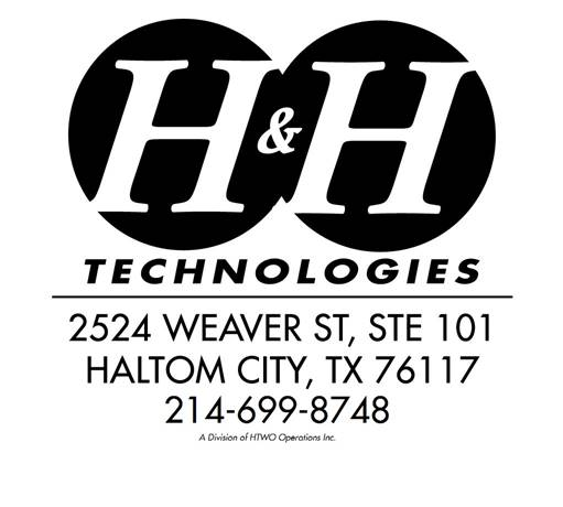 H&H Logo with Address, Phone and HTWO